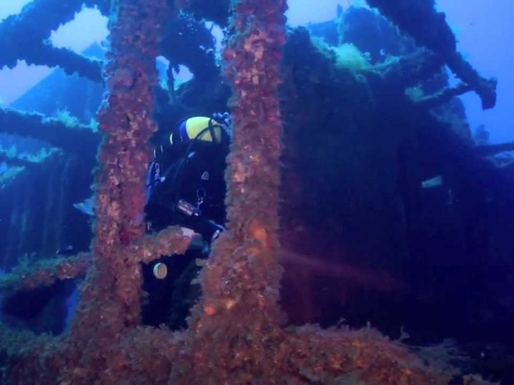 Menorca sub, relitto Francisquita