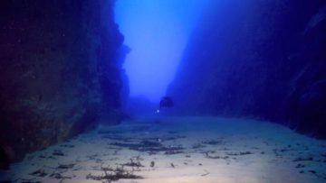 Menorca sub, il Tunnel dei Sospiri