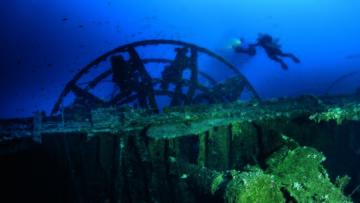 apertura Relitto Patris, Isola di Kea (Grecia), affondato nel 1868, foto Alexandre Legrix 3