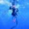 federica brignone underwater by giuseppe la spada